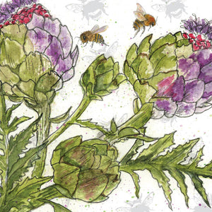 Pear Tree Heybridge - Sarah Broddy - Bee-tancial Globe Artichoke