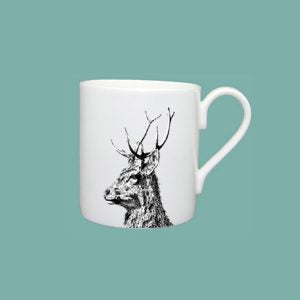 Little Weaver Arts - Imperial Stag Mug (standard)