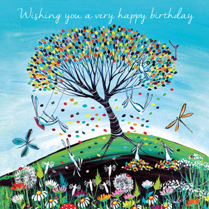 Eco Friendly Card Company - Kate Andrew - Wishing You A Very Happy Birthday