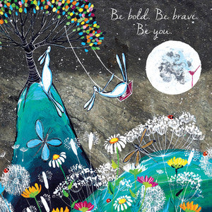 Eco Friendly Card Company - Kate Andrew - Be Bold, Be Brave, Be You