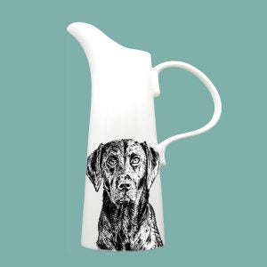 Little Weaver Arts - Black Labrador Jug. Available in 4 Sizes. Prices Starting at £15.95