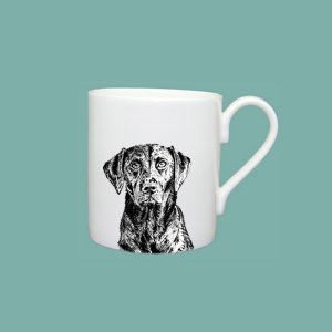 Little Weaver Arts - Black Labrador Mug (standard)