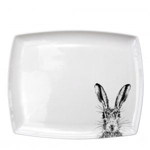 Little Weavers Arts Sassy Hare – Large Platter