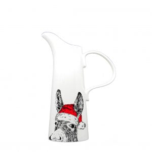 Little Weaver Arts - Christmas Donkey Jug. Available in 4 Sizes. Prices Starting at £15.95