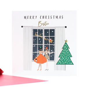 Belly Button Designs Christmas Cards - Merry Christmas Bestie