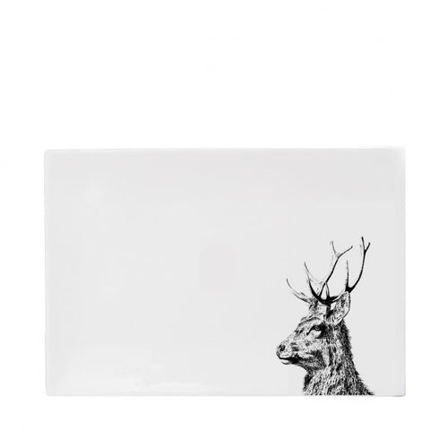 Little Weaver Arts - Imperial Stag Melamine Placemats