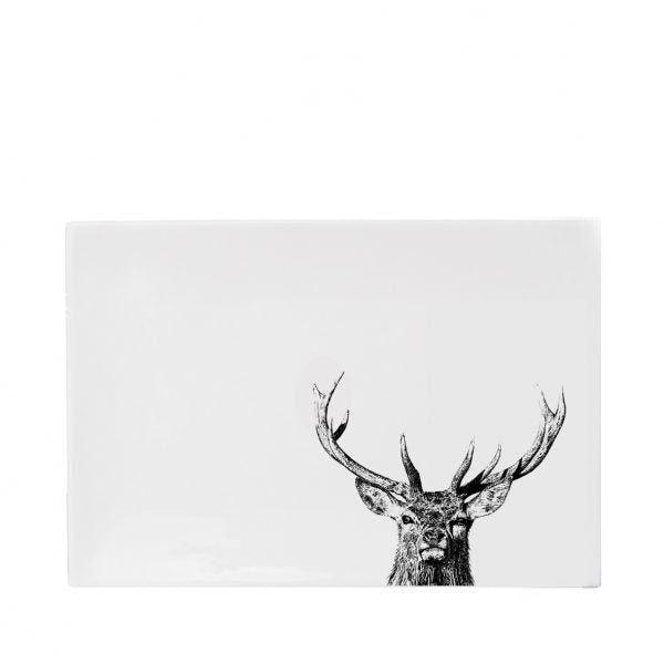 Little Weaver Arts - Majestic Stag Melamine Placemats