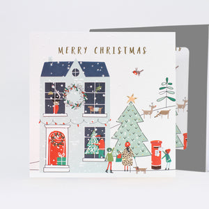 Belly Button Designs Christmas Cards - Xmas Posting a Letter