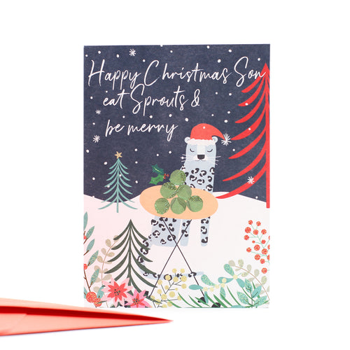 Belly Button Designs Christmas Cards - Merry Christmas Son