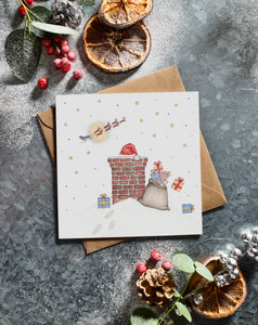 Lottie Murphy Christmas Chimney Christmas Card