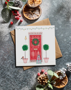 Lottie Murphy Red Door Christmas Card