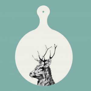 Little Weaver Arts - Imperial Stag Chopping Board