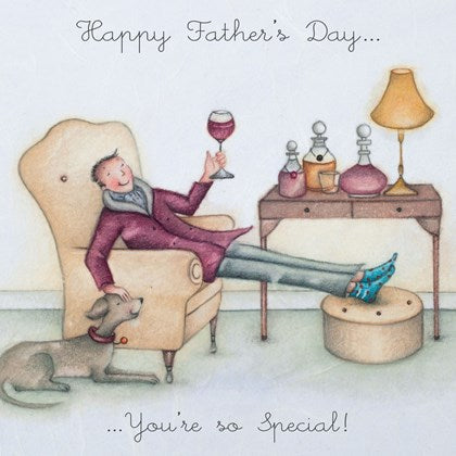 Berni Parker Blank Greetings Card - Happy Father's Day ... You're So Special