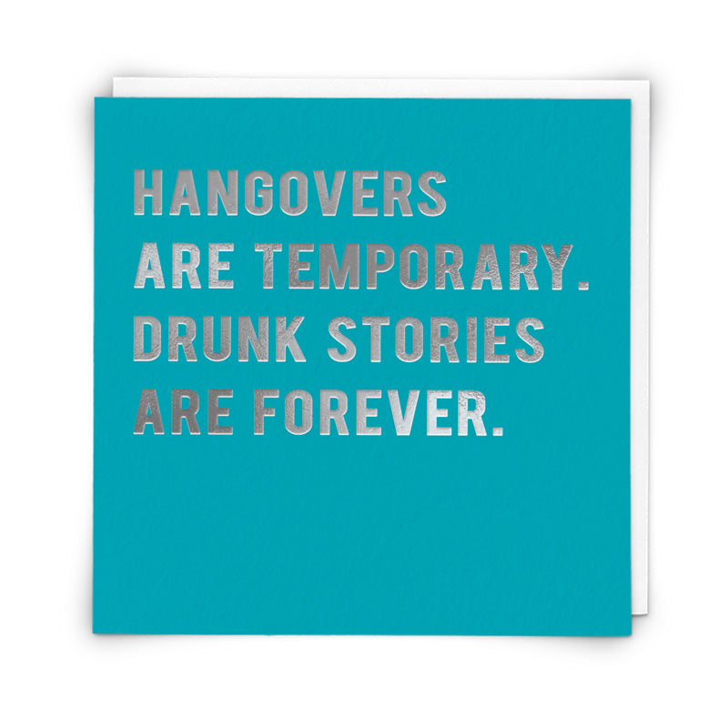 Coulson Macleod Wise Words Greetings Card - Hangovers