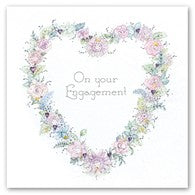 Berni Parker Blank Greetings Card - Engagement
