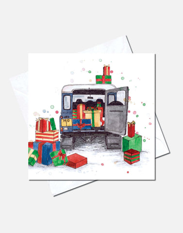 Christmas Card by Eleanor Tomlinson - A Very Landy Christmas