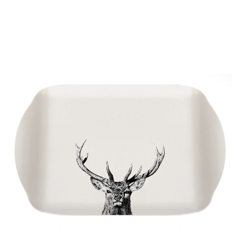 Little Weavers Art - Majestic Stag - Small Melamine Tray