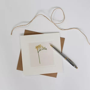 Sophie Botsford -  Freesia Greetings Card