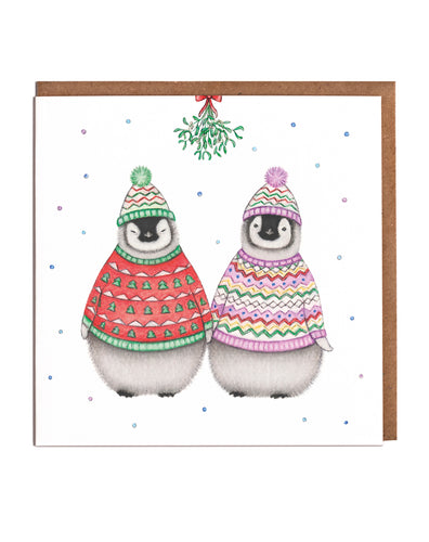 Lottie Murphy Penguins Christmas Card