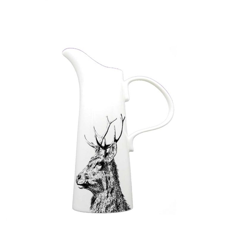 Little Weaver Arts - Imperial Stag Jug. Available in 4 Sizes. Prices Starting at £15.95