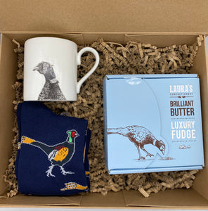 Blue Pheasant Gift Box