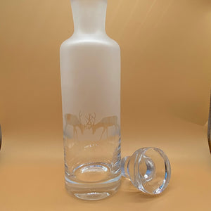 Milfford Collection- Amino Glassware -  Stag Decanter