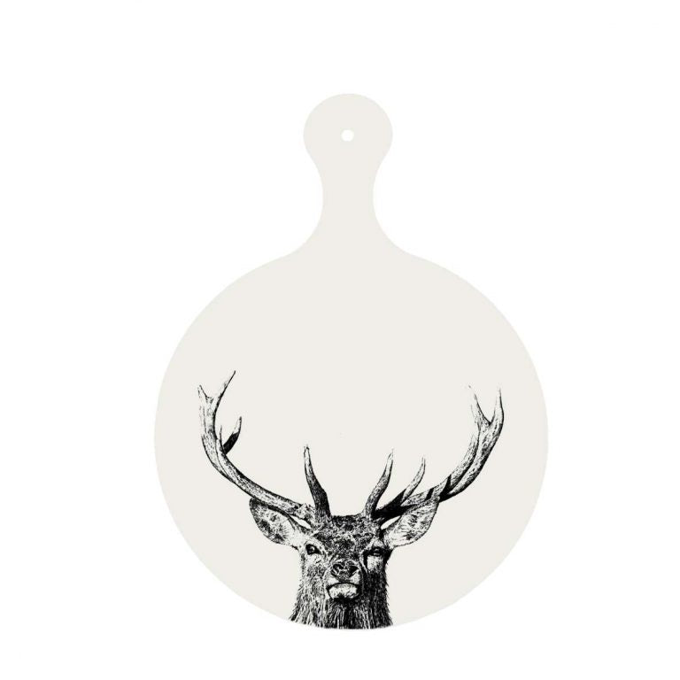Little Weaver Arts - Majestic Stag Chopping Board