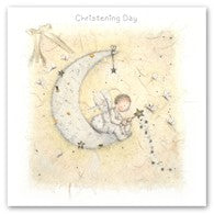 Berni Parker Blank Greetings Card - Christening Day