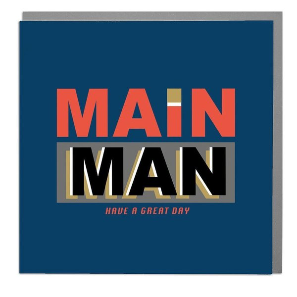 Lola Designs Ltd - Rocky Typography - Main Man