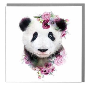 Lola Designs Ltd Wildlife Botanical Panda Luxury Notebook