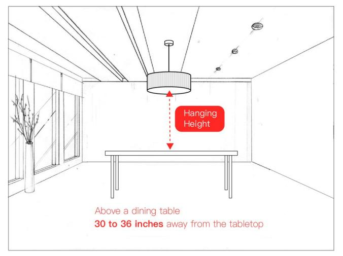 how high to hang a chandelier above a dining table? chandelier height, chandelier over a dining table