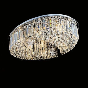 Elegant Moons Crystal Chandelier