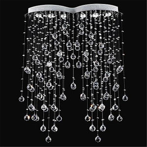 Modern Raindrop Crystal  Chandelier