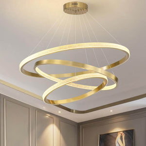 Multiple Rings Galaxy Chandelier