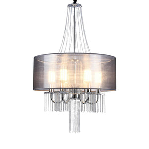 Drum Tassel Pendant Light