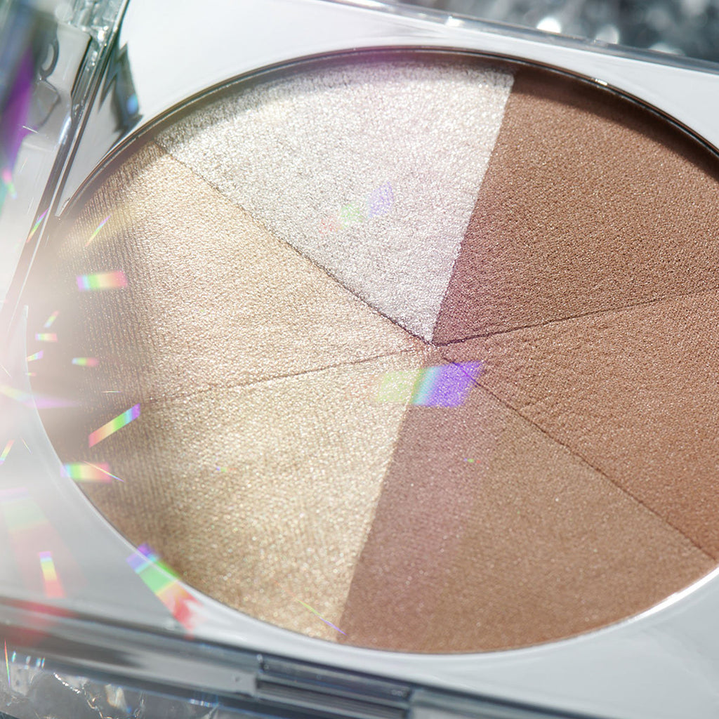 Pur Crystal Clear Jumbo Highlight and Bronzer palette
