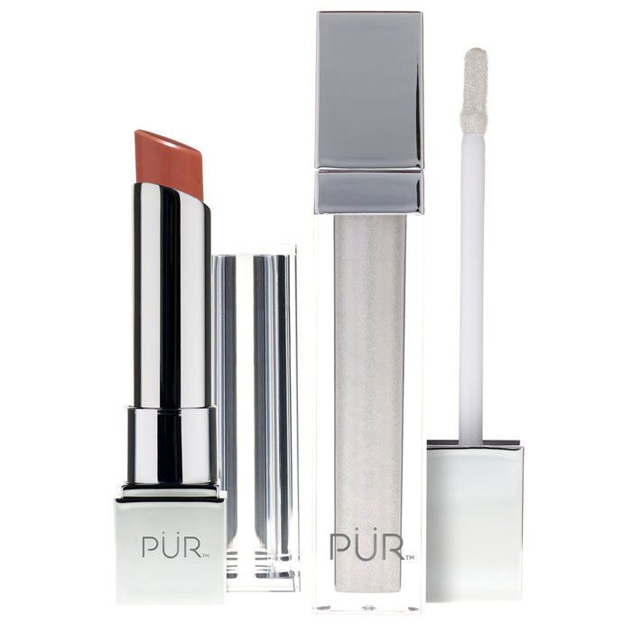 Pur Crystal Clear Perfect lip kit lip swatch lip packaging