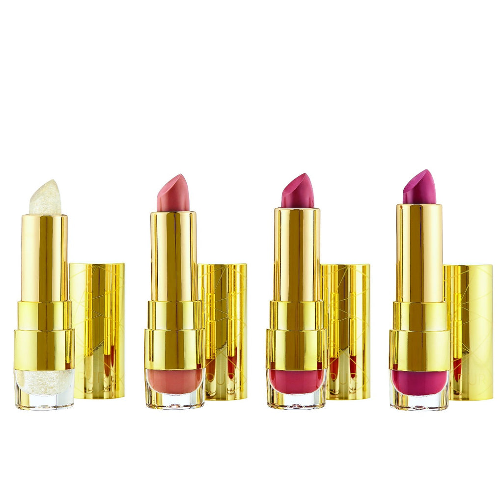 Kiss Of Confidence Limited Edition Sweet 16 Lipstick Trio and Balm Set