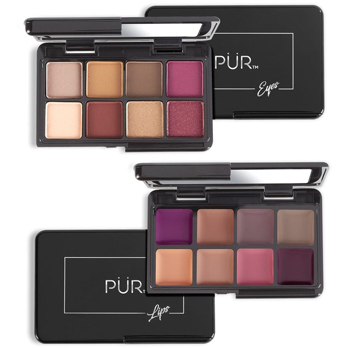 Quick Pro Portables Night Fantasy On-The-Go Lipstick & Eyeshadow Palette Pair