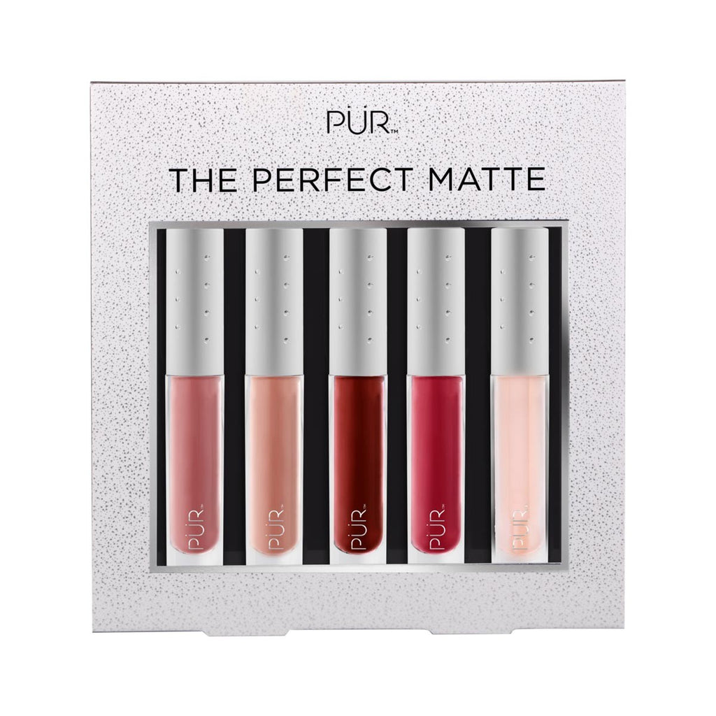 The Perfect Matte - Velvet Matte Liquid Lipsticks with Lip Oil