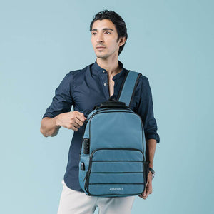 Rossi-Laptop Backpack-Teal