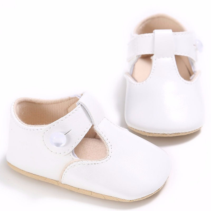 Mary Jane Newborn Baby Sweet Casual Leather Shoes Happylica Com