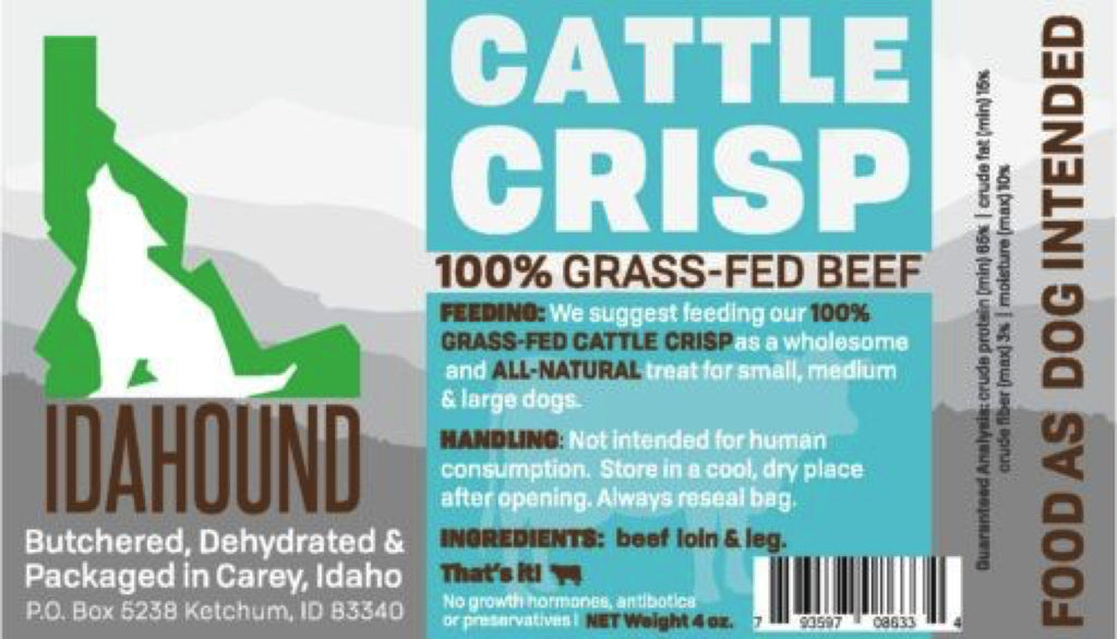 Cattle Crisps (4 oz.)