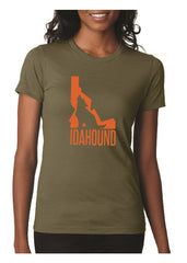 Idahound T-shirt - Green