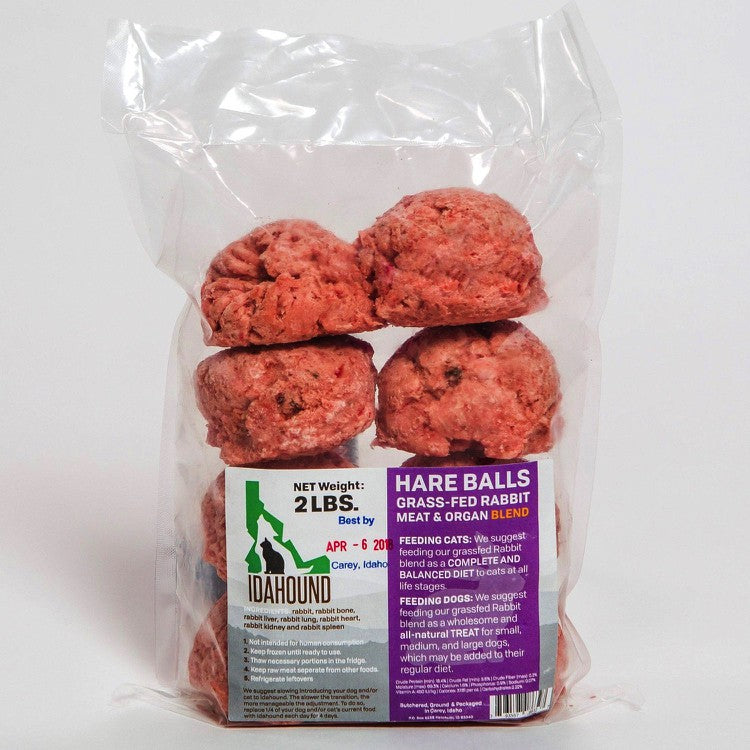 Doggy Hare Balls (2 lbs.) - SOLD OUT