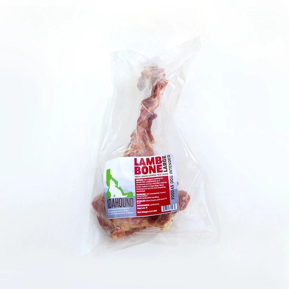 Raw Meaty Lamb Bone (pelvic bone)