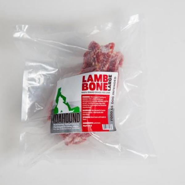 Raw Meaty Lamb Bone (large vertebrae)