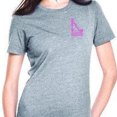 Idahound T-shirt - Grey/Pink
