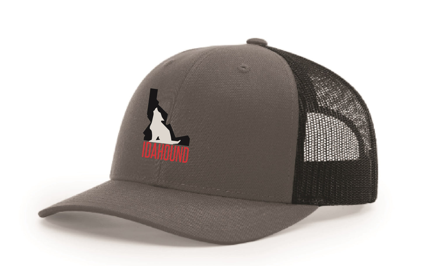 Idahound Snap-back Trucker Hat - Heather Grey/Dark Charcoal
