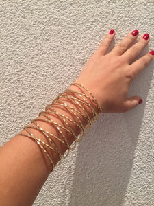 Gold Arm Bangle